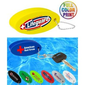 Floating Stress Reliever Keychain Ball - Full Color