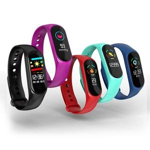 Bluetooth Heart Rate & Blood Pressure Monitoring Bracelet