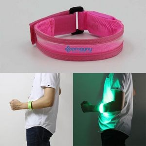 LED Reflective Safety Slap Band