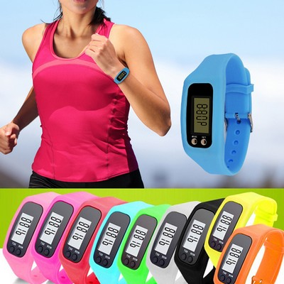 Silicone Belt Fitness Watch