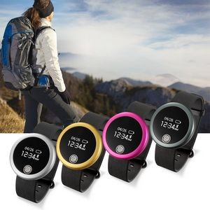 Heart Rate IP66 Waterproof Smart Bracelet Pedometer